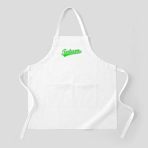 Retro Tatum (Green) BBQ Apron