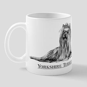 Yorkshire Terrier Yorkie Dog Breed Mug