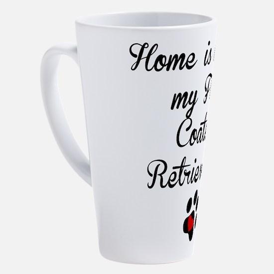 Unique Flat coated retriever lover 17 oz Latte Mug