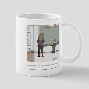 Doing Math with Feeling Teacher 11 oz Ceramic Mug