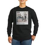 Old Fashioned TV Parentin Long Sleeve Dark T-Shirt