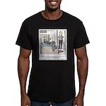 Old Fashioned TV Paren Men's Fitted T-Shirt (dark)