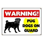 Pugs On Guard Banner