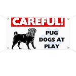 Pugs At Play Banner