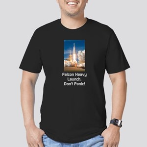 Falcon Heavy Launch- Light Text T-Shirt