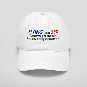 Flying is like Sex Cap