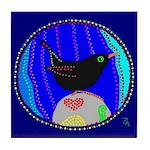 Ouzel Tile Coaster