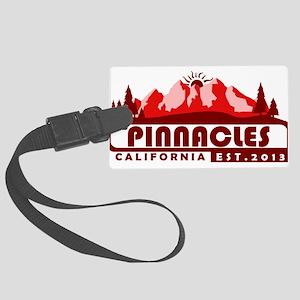 Pinnacles - California Large Luggage Tag