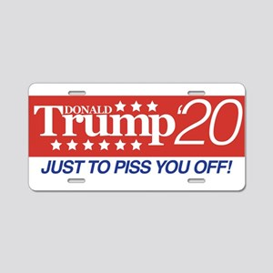 Donald Trump '20 Dark Aluminum License Plate