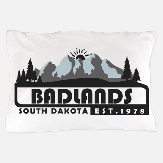 Badlands - South Dakota Pillow Case