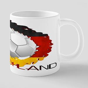 German Soccer Dragon Mugs