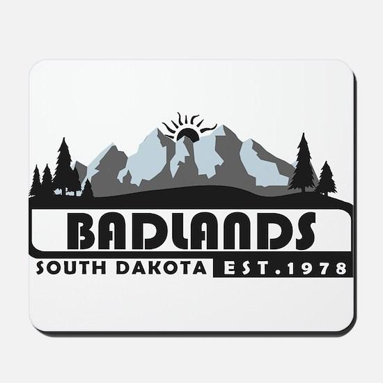 Badlands - South Dakota Mousepad