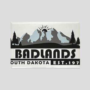 Badlands - South Dakota Magnets