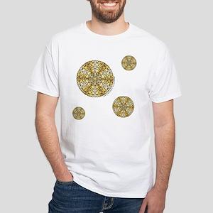 Celestial Sun White T-Shirt
