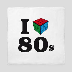i love 80s Queen Duvet