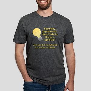 Psychiatrist lightbulb joke T-Shirt