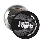 """I am a verb 2.25"""" Button"""