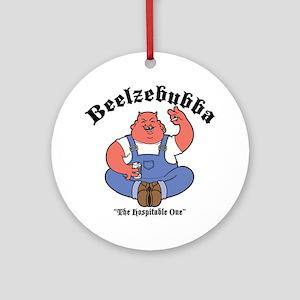 Beelzebubba Ornament (Round)