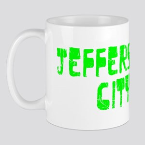 Jefferson City Faded (Green) Mug