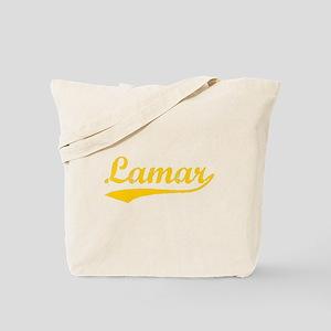 Vintage Lamar (Orange) Tote Bag
