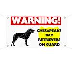 Chesapeake Bay Retrievers On Guard Banner