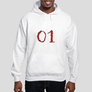 """01"" Bricks Hooded Sweatshirt"