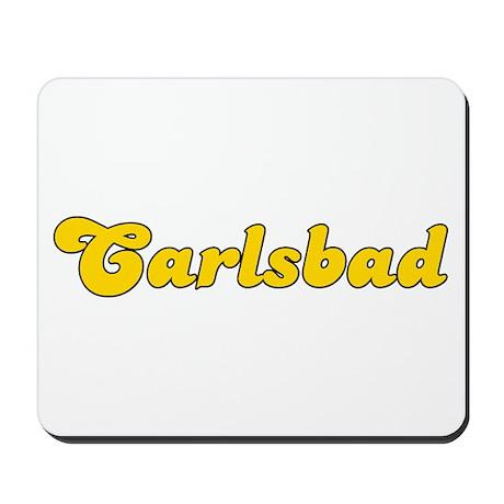 Retro Carlsbad (Gold) Mousepad