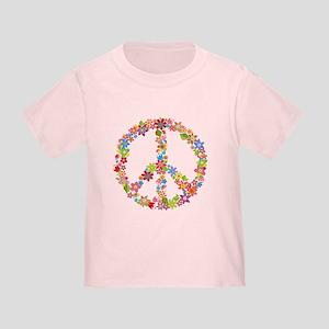 Peace Sign Flowers T-Shirt (adults/kids)