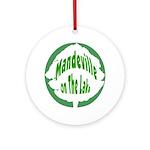 Mandeville Ornament (Round)