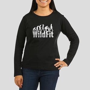 WildFit E.Logo White Long Sleeve T-Shirt
