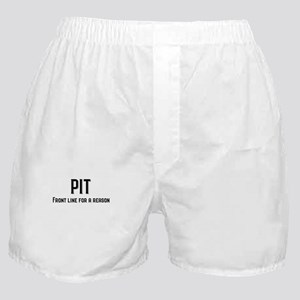 PIT Front Line for a Reason Boxer Shorts