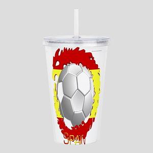 Spain Soccer Dragon Acrylic Double-wall Tumbler