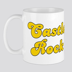 Retro Castle Rock (Gold) Mug