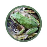 Pacific Chorus Frog Treefrog Ornament (Round)