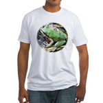 Pacific Chorus Frog Treefrog Fitted T-Shirt