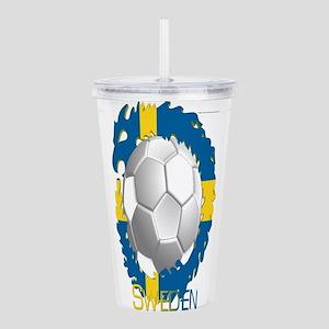 Swede Soccer Dragon Acrylic Double-wall Tumbler