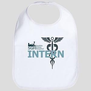 Seattle Grace Hospital Intern Baby Bib