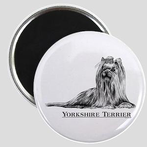 Yorkshire Terrier Yorkie Dog Breed Magnet