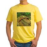 Ensatina Salamander Yellow T-Shirt