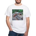 Ensatina Salamander White T-Shirt