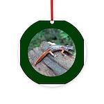 Ensatina Salamander Ornament (Round)
