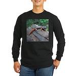 Ensatina Salamander Long Sleeve Dark T-Shirt