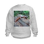 Ensatina Salamander Kids Sweatshirt