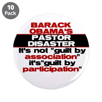 """Obama Guilty 3.5"""" Button (10 pack)"""