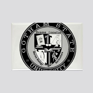 Gotham State University Rectangle Magnet