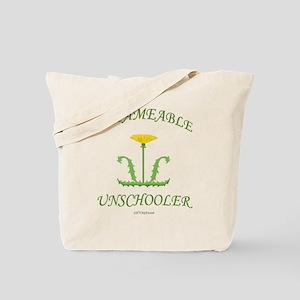 Untameable Unschooler Tote Bag