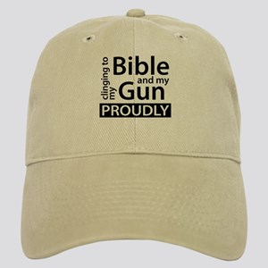 Clinging to my Bible & my Gun Cap