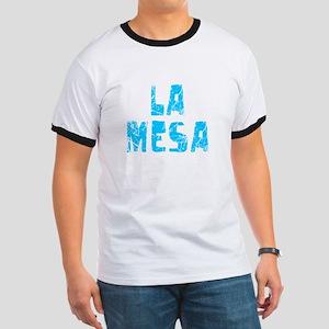 La Mesa Faded (Blue) Ringer T