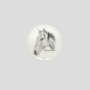 Horse Lover Mini Button