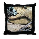 California Slender Salamander Throw Pillow